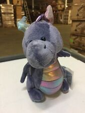 Webkinz Stormy Dragon HM634 Soft Plush Animal With Online Code From Ganz