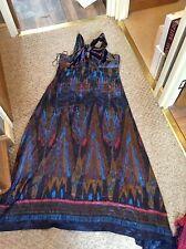 Silk maxi dress by Next size 16