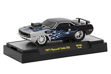 M2 Machines Wild Cards 1971 Plymouth Cuda 383 WC06 Limited Edition 1/64 New