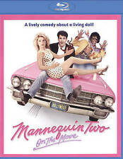 Mannequin Two: On the Move (Blu-ray Disc, 2015, Olive Films) NEW!