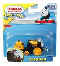 Fisher Price Thomas & Friends Take-n-Play STEPHEN die-cast engine! magnet NEW