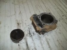 2012 CAN AM RENEGADE 1000 ENGINE JUG CYLINDER WITH PISTON