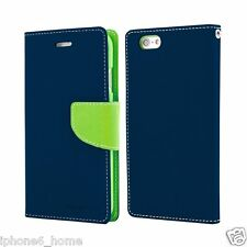 Genuine MERCURY Goospery Folio Flip Case Wallet Cover For Apple iPhone 5/5s & SE