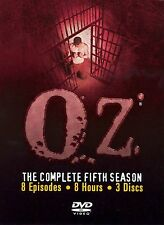 Oz (HBO SERIES) ~ Complete 5th Fifth Season 5 Five ~ BRAND NEW DVD SET