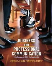 Business & Professional Communication: Principles and Skills for Leadership (2nd