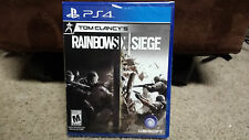 Tom Clancy's Rainbow Six Siege - PS4 - NEW SEALED! - SUPER FAST SHIPPING!