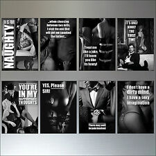 Erotic classic vintage No.2 Set of 8 Fridge Magnets