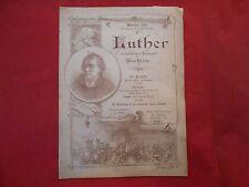 Original Konzertprogramm Werbung 1893