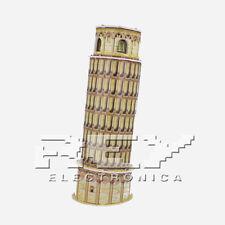 Puzzle 3D Torre de Pisa Juego  Plaza del Duomo ¡Envío desde ESPAÑA! j73