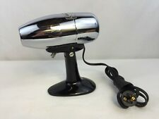 Vintage Oster AIRJET Electric Hair Dryer Model 202 Chrome Stand Up or Hand Held