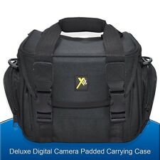 Padded Medium Camera Bag Case for Nikon D5300 D5200 D3300 D3200 D7000 SLR Camera