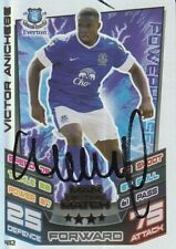VICTOR ANICHEBE HAND SIGNED EVERTON 12/13 MATCH ATTAX CARD 2012/2013 MOTM.