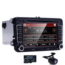 Camera 2 DIN Car Radio DVD Player GPS Stereo for VW B5 MK4 MK5 Golf Passat Jetta