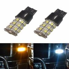 JDM ASTAR  2x 2835 60-SMD 7443 T20 White Amber LED Switchback Turn Signal Lights