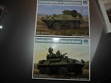 TRUMPETER 1/35th SCALE 2 KITS CANADIAN AVGP COUGAR & HUSKY AS SHOW ( # 01504/6 )