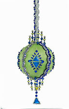 The Cracker Box Chartres ( Celery with Royal Accents  Christmas Ornament Kit
