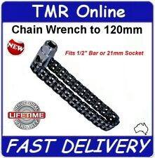 LARGE TRUCK FILTER REMOVING TOOL, SUPER STRONG DOUBLE CHAIN WRENCH PROFESSIONAL