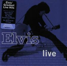 ELVIS PRESLEY : ELVIS GREATEST LIVE HITS (CD) sealed