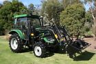New 55hp Tractor Air Conditioned Cabin Plus 4x1 Front End Loader