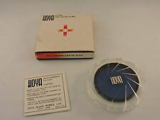 Hoya Filter for Color Films Blue 80A 52mm Japan Metal Screw In Photograpy Equip