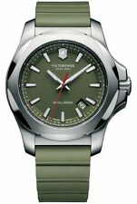 Victorinox Swiss Army   I.N.O.X. Green Dial Green Rubber Men's Watch 241683.1