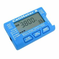 AOK CellMeter 8 Multifunctional Digital Battery Capacity Servo Checker Tester 2S
