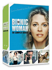The Bionic Woman: Lindsay Wagner Complete Series Seasons 1 2 3 DVD Boxed Set NEW