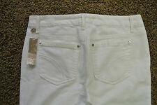 JOE'S THE MUSE JEANS 30x35 NWT$175 Sexy! Jenny White Wash! Hollywood Glamour