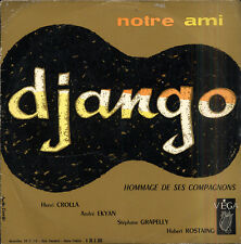 Henri CROLLA, EKYAN, ROSTAING, GRAPELLY Notre ami Django French LP VEGA 805