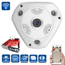 Mini 360 Degree Wireless IP Camera Fisheye night vision 960P HD wifi Panoramic