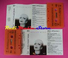 MC MINA Attila vol.1  vol.2 1979 italy PDU PMA 715 716 2 MC no cd lp dvd vhs *