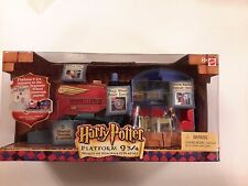 Harry Potter Platform 9 3/4 PLAYSET MIB World of Hogwarts Electronic School NIB