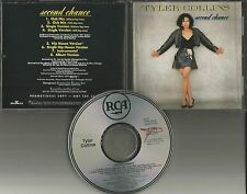 TYLER COLLINS Second Chance 8TRX CLUB MIXES & INSTRUMENTAL PROMO DJ CD single