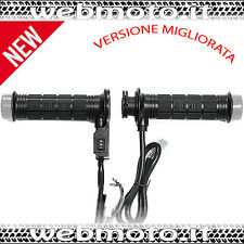 NEW MANOPOLE RISCALDATE UNIVERSALI PER MOTO SCOOTER HEATED HAND GRIPS