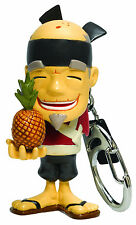 Fruit Ninja Sensei PINEAPPLE Keychain Keyring Blade Slice Video Game Halfbrick