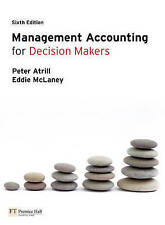 Management Accounting for Decision Makers-ExLibrary