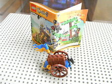 Lego Castle - Treasure Cart with Weapons, Treasure chest and Treasure