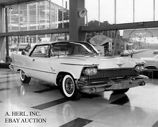 Imperial Crown coupe Chrysler 1958 press 1957 Imperial Southampton Hardtop photo