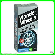 Wonder Wheels Alloy Wheel Cleaning Kit 500ml Bottle [WWK500] Car Plan