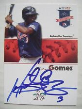 HECTOR GOMEZ signed RC BREWERS ROCKIES 2008 Tristar baseball card AUTO #237