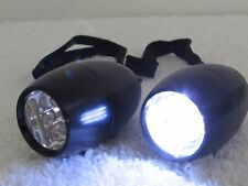 2 Mini Pocket Flashlight 6 Led Light Torch Lamp Portable Lanyard Bright Camping
