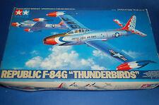 """Tamiya 61077 - Republic F-84G """"Thunderbirds""""   scala 1/48"""