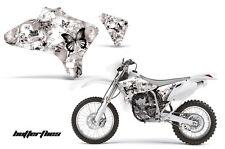 AMR Racing Yamaha YZ 250F/450F Shroud Graphic Kit MX Bike Decals 03-05 BFLY BLK