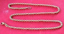 """James Avery  Heavy Cable Chain 14k Yellow Gold 20"""" Long"""