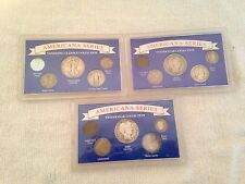 LOT OF 3 AMERICANA SERIES COIN COLLECTIONS ALL ENCASED
