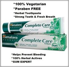 Himalaya Complete Care 100% Natural Herbal Toothpaste - Helps prevent bleeding