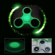 Glowing Hand Spinner Tri Fidget Ceramic Ball Desk Focus Toy EDC Kids Adult Gifts