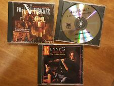 Lot 3 CDs ~ The Nutcracker - Kenny G Miracles - Amy Grant Christmas to Remember