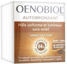 Oenobiol Autobronzant Self-Tanner 1 Month Supply - 30 Capsules