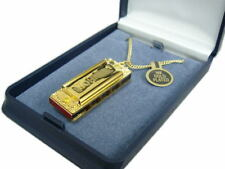 Hohner Little Lady Playable Miniature Harmonica Necklace With Display Box